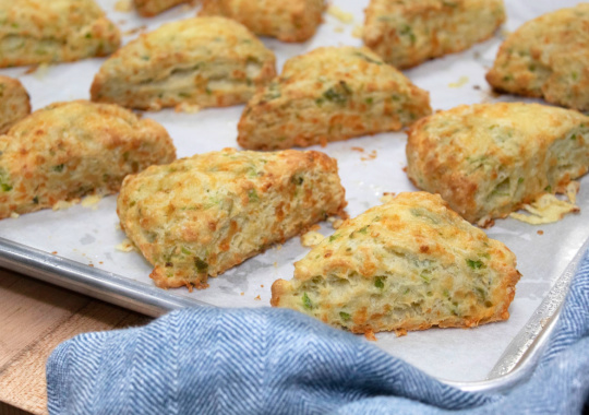 Jalapeno & Millbank Old Cheddar Scones