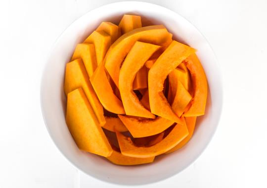 Sliced Butternut Squash Prepped Produce (Small)