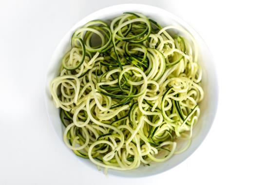 Zucchini Noodles Prepped Produce (Small)