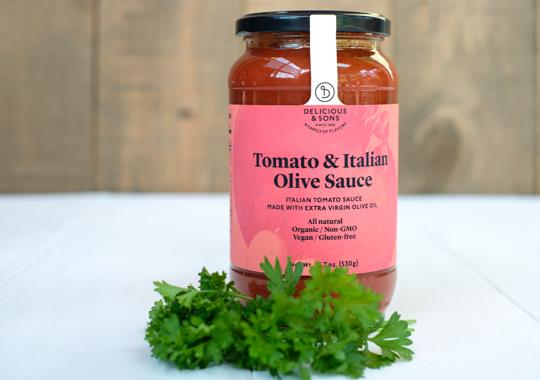 Tomato and Italian Olive Sauce