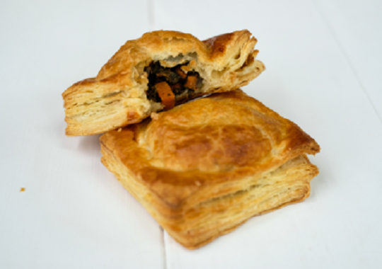 Kale and Carrot Hand Pies