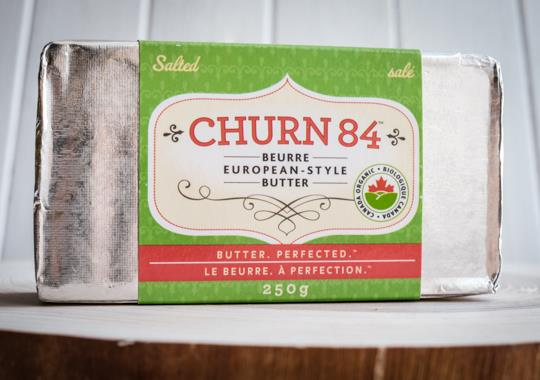 Organic Butter (Churn 84, Highfat, Salted)