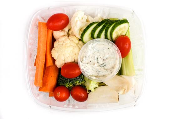 Mixed Vegetables & Mama's Ranch Dip (Small)