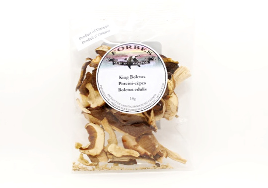 Dried King Boletus Mushrooms