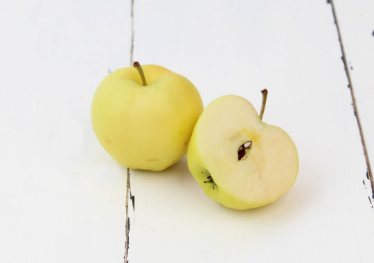 Apple (Pristine, delicate, sml) - not certified, grown organically