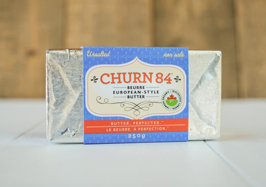 Organic Butter (Churn 84, Highfat, Unsalted)