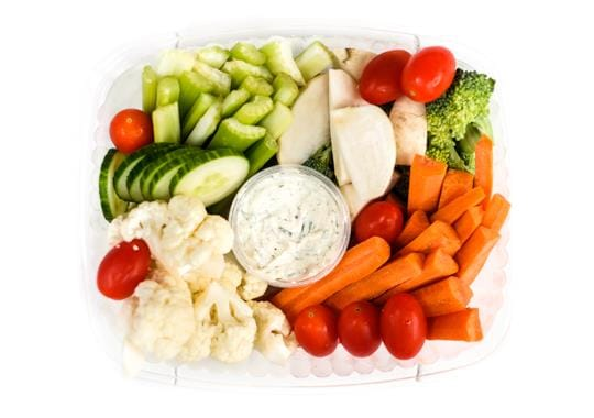 Mixed Vegetables & Mama's Ranch Dip (Large)