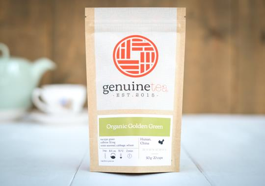 Organic Golden Green Tea
