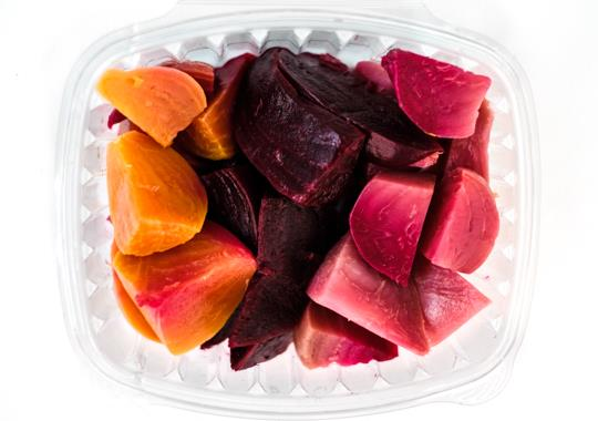 Roasted Tricoloured Beets