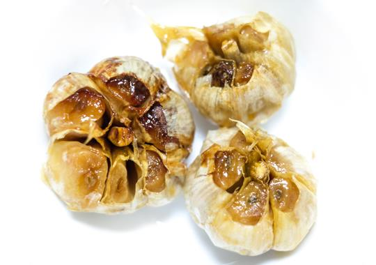 Roasted Local Garlic