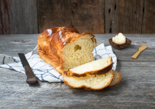 Brioche Sandwich Loaf (Unsliced)