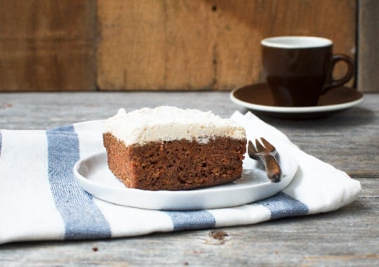 Nut Free Spiced Carrot Cake