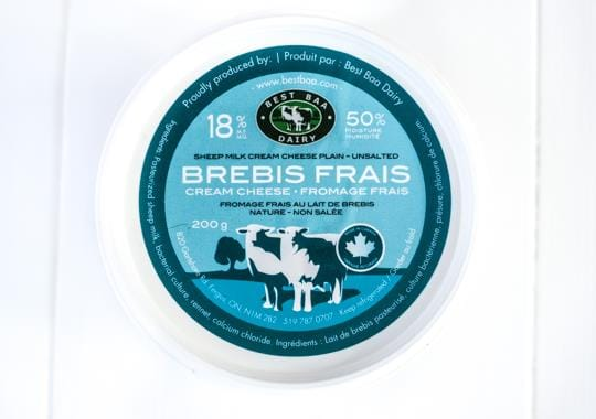 Brebis Frais Cream Cheese