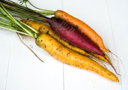 Carrots (Rainbow, Bunch)